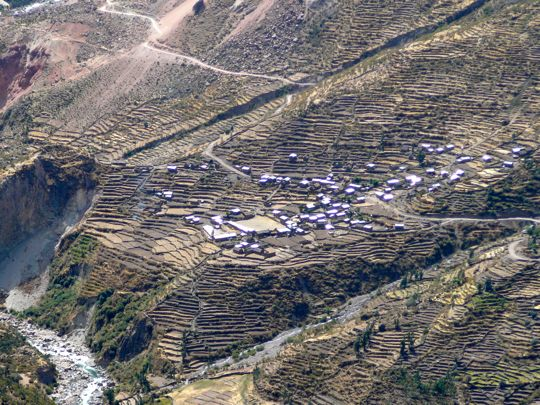 Village in the Cotahuasi Canyon